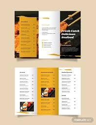 18 Restaurant Tri Fold Brochure Designs Templates Psd