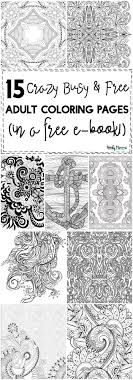 Small Picture 15 CRAZY Busy Coloring Pages for Adults Page 10 of 16 Nerdy Mamma