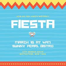 Invitation Templates Birthday Customize 73 Fiesta Invitation Templates Online Canva