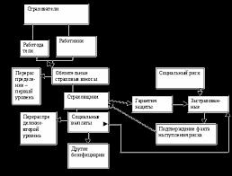 Особенности государственного социального страхования в России  Экономическое содержание социального страхования