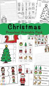 Free Printable Christmas Worksheets Daycare Preschool