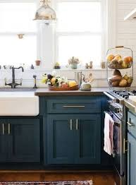 Blue Painted Kitchen Cabinets Photos 23 gorgeous blue kitchen