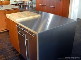 diy metal countertop stainless
