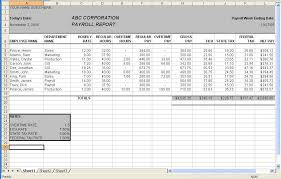 Payroll Sheet Samples Employee Payroll Spreadsheet Magdalene Project Org