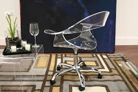 acrylic office chairs. Image Of Acrylic Desk Chair Office Modern Chairs C