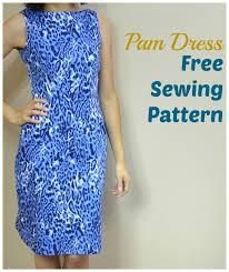 Free Dress Sewing Patterns Simple FREE SEWING PATTERN Pam Dress Supply Patterns Kollabora