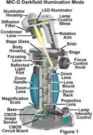 dark field microscopy olympus microscopy resource center anatomy of the mic d digital