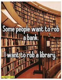 Image result for funny library