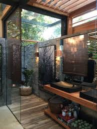 Outdoor Bathroom Plans Model