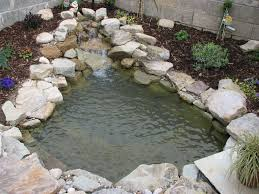 Small Picture Heres a small and simple pond waterfall Ponds Pinterest