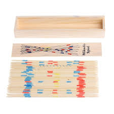Game With Wooden Sticks Traditional Mikado Spiel Wooden Pick Up Sticks Set Traditional 18