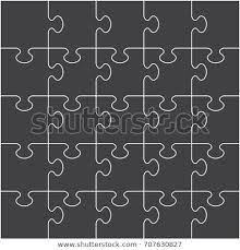 Puzzle Piece Backdrop Vector Format Step Stock Vector Royalty Free