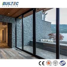 china powder coating double glazed