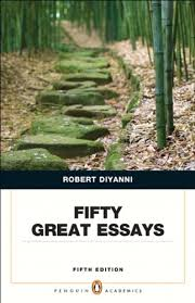 fifty great essays th edition robert j diyanni  fifty great essays 5th edition robert j diyanni 9780321848499 creative writing composition amazon