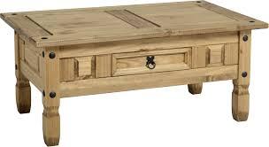 bbs111 corona 1 drawer coffee table