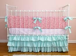 cute c and aqua baby bedding