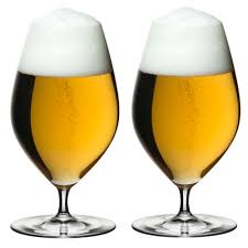 riedel veritas series beer glass tulip glass set of 2 capacity 435 ml 1a neuware englisch