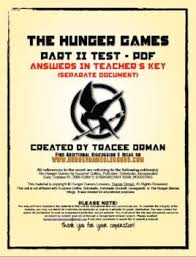 hunger games part test review activity essay test