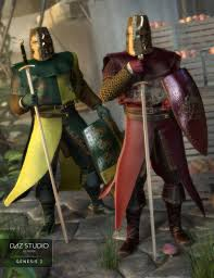 knight guard round table textures