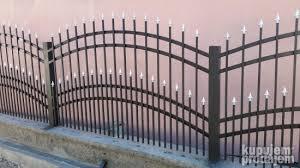 Građevinarstvo : Metalne kapije i ograde sa coklom 25.12.2020 - ID 53522397  - KupujemProdajem