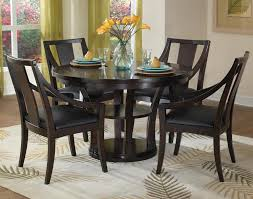 Game Table And Chairs Set Home Styles Rio Vista 5 Piece Espresso Game Table Set 5902 318