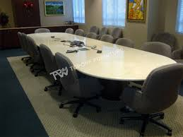 two end half round 10 people seats office conference meeting table tpct0019