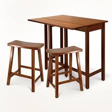 lynnwood 3 piece high drop leaf table set 140 53