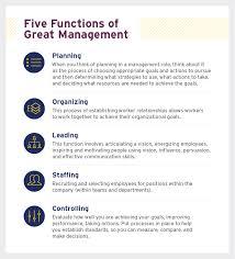 5 principles of great management uagc
