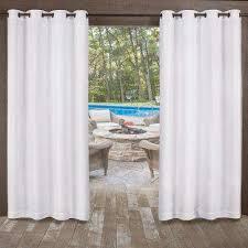 l indoor outdoor grommet top curtain panel