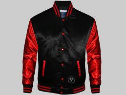 custom satin varsity jackets
