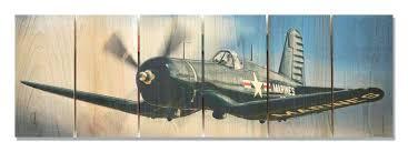airplane wall art color planes corsair  on color planes wall art with cast plane wall art more airplane 3 piece vintage canvas entrecielos