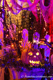halloween outdoor lighting. Outdoor Halloween Lighting. The Lights Create A Wave Effect That Makes Shadows Look Like They Lighting W
