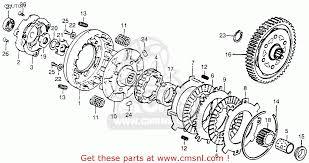 honda ct70 parts actusre us honda ct70 trail 70 1980 a usa clutch schematic partsfiche