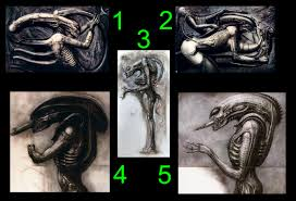 Giger Alien Design Xeno Design In A C Was Direct From Giger Alien