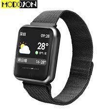MODOSON Thông Minh Đồng Hồ Bluetooth Smartwatch P68 Vòng Đeo Tay Ban Nhạc  Cho Samsung Huawei Xiaomi ios Apple iphone 7 8 X XS MAX XR iwo đồng hồ|smartwatch  clock