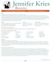 Teacher Resumes Samples Dance Resume Sample Job And Template