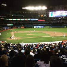 Rogers Centre Section 119r Home Of Toronto Blue Jays