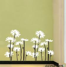 daisy wall art decor