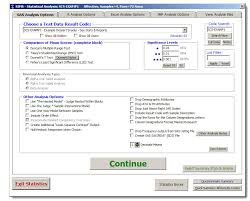 Sas Statistical Analysis Options Examples Sims Sensory