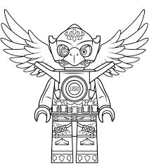 Lego Chima Eagle Eris Kleurplaat Gratis Kleurplaten Printen