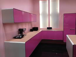 Purple Kitchen Cabinet Doors Green Color L Shaped Kitchen Cabinet Design Others Extraordinary