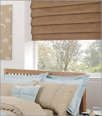 Bedroom Roman Blinds
