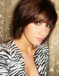 Short Layered Bob Hairstyles With Fringe Hollywood Official
