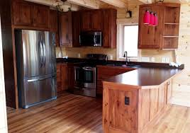 stained hickory cabinets. Exellent Cabinets Stained Natural Rustic Hickory Cabinets Intended L