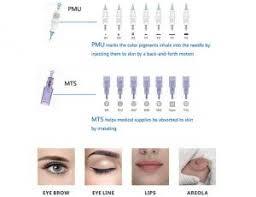 quality durable semi permanent makeup needles for micropigmentation tattoo machine