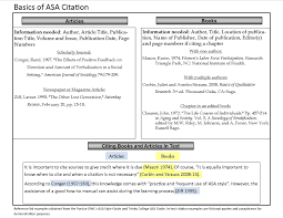 Asa Format Citation Machine College Paper Sample August 2019