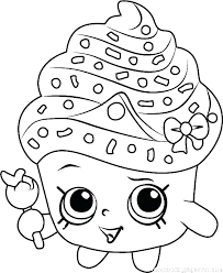 Coloring Pages Shopkins Printable Coloring Page Pages To Print