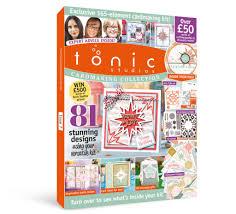 Tonic Studios Design Collection Magazine Tonic Studios Magazine Kit 07