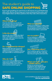 infographic the student s guide to safe online shopping digital commerce infographic