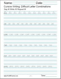 You can create printable tests and worksheets from these grade 3 phonics questions! 50 Cursive Writing Worksheets Alphabet Letters Sentences Advanced